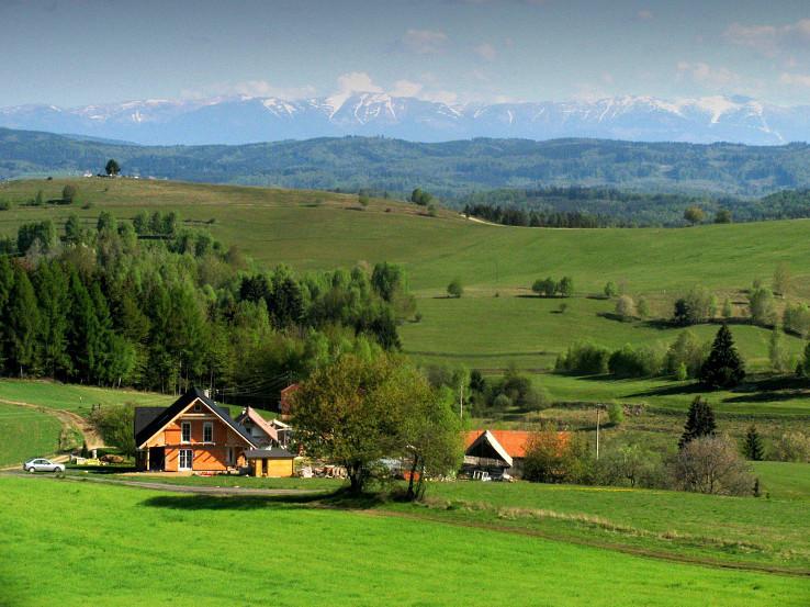 Sihlianska planina v okolí Detvianskej Huty