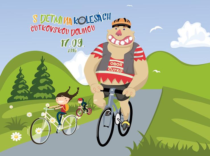 Cyklopodujatie pre deti v Čutkovskej doline 17. 9. 2016