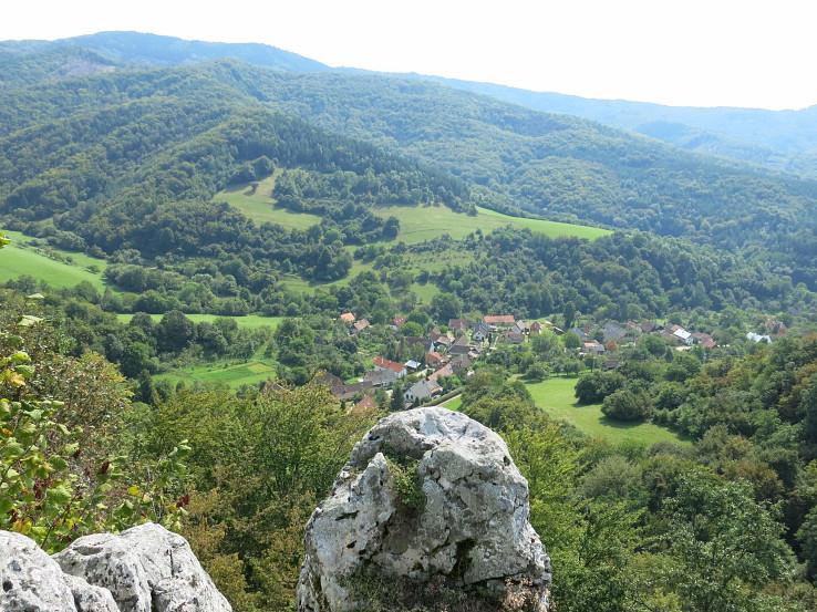 Výhľad z Rohatej skaly