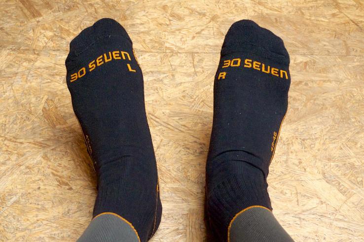 30Seven Long Socks – elektrické vyhrievané podkolienky
