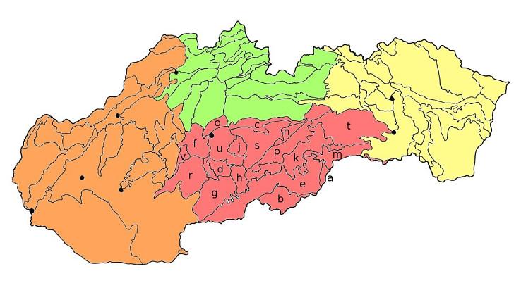 Južná skupina slovenských geomorfologických celkov