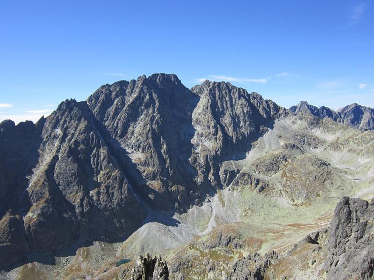 Pohľad na najvyšší kopec Slovenska - Gerlachovský štít, spod Bradavice (autor foto: Martin Knor)