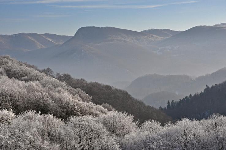 Jeden z najznámejších vrcholov okolia - Sivec