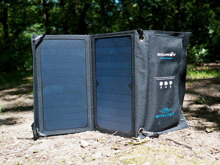 Solárna nabíjačka BlitzWolf 15W