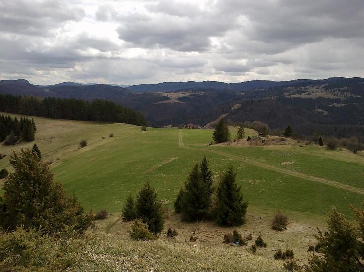 Volovské vrchy z Vysokého vŕšku