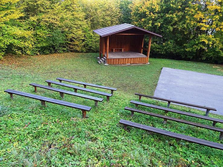 Prírodný amfiteáter na Otoči