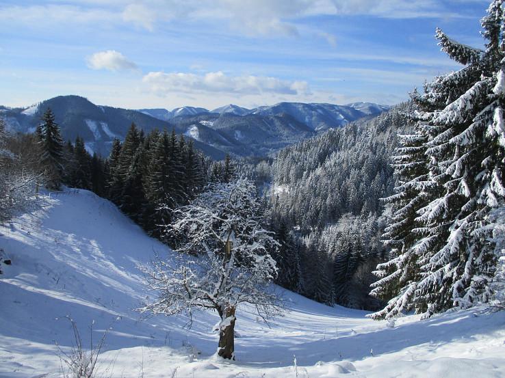 Zima v Gleinalpe