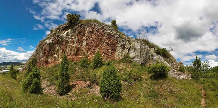 Najkrajšia skalka pri Údole