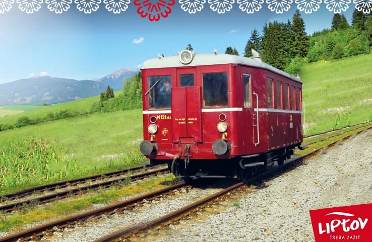 Zo stanice v Ružomberku bude vyrážať historický vlak od 9:00 do 16:00 každú celú hodinu