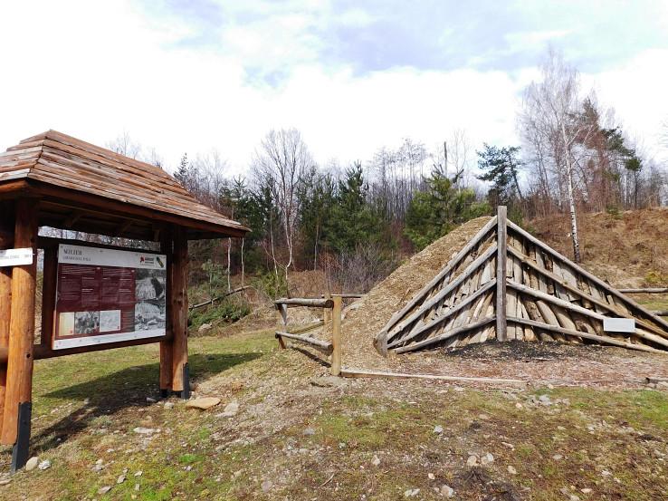 Nad Zemplínskymi Hámrami - Hámorský NCH - výroba dreveného uhlia