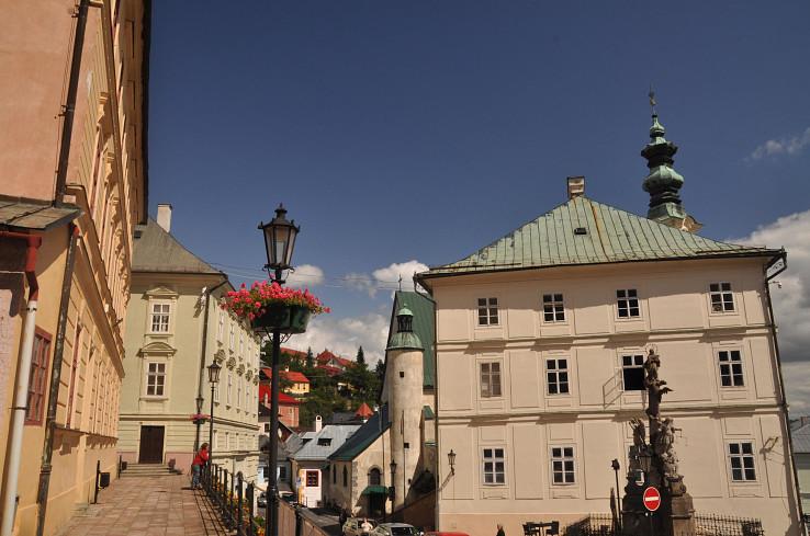 Malebná Banská Štiavnica