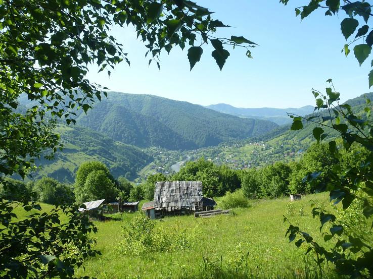 Panoráma obce Bilyn
