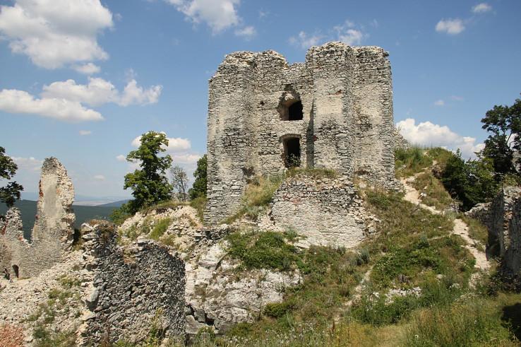 V útrobách hradu