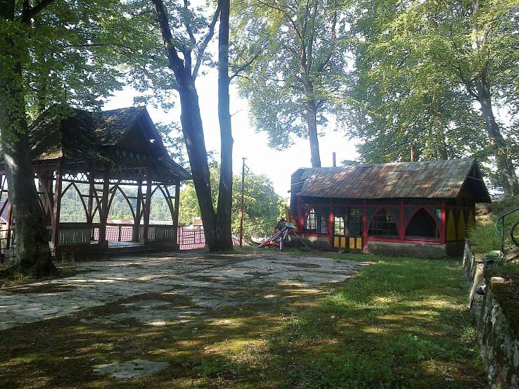 Železník - hudobný pavilón a kolkáreň