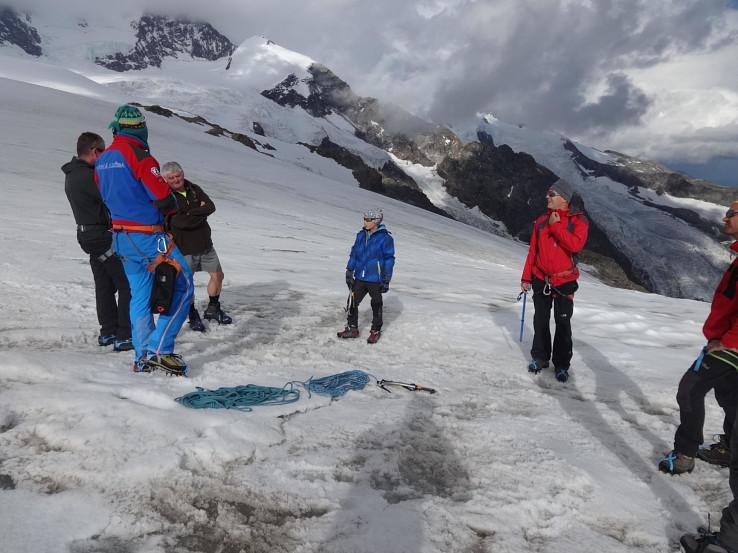 Opakovanie pohybu po ľadovci