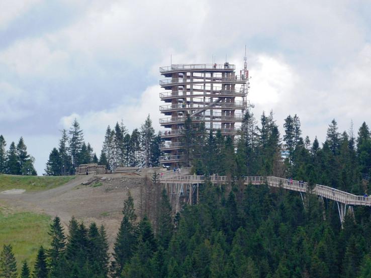 Vyhliadková veža Bachledka