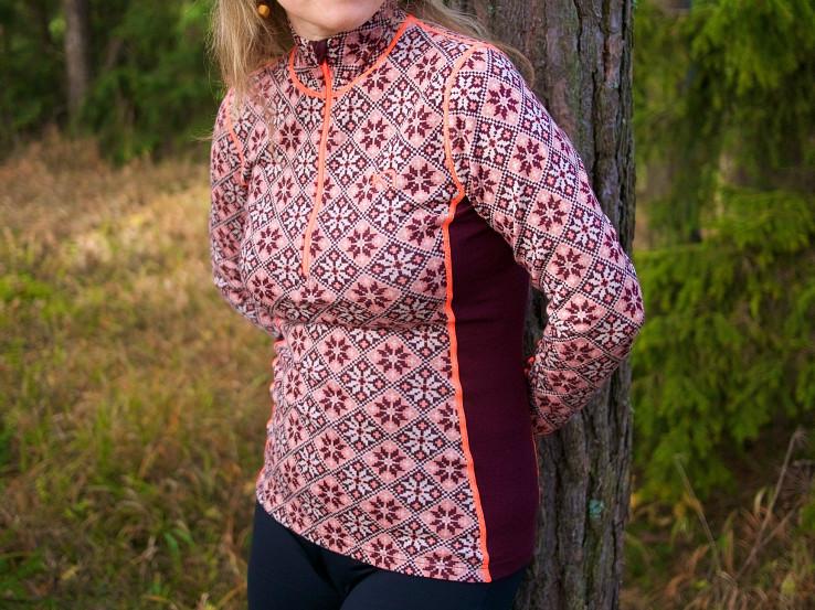Kari Traa Rose - funkčné merino prádlo s pekným dámskym dizajnom