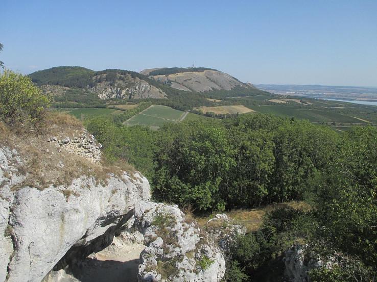 Pavlovské vrchy zo Sirotčího hrádku
