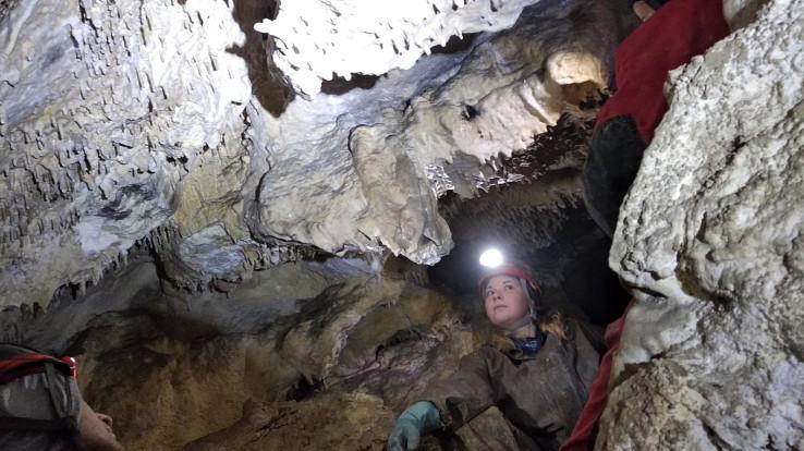 V Plaveckej jaskyni