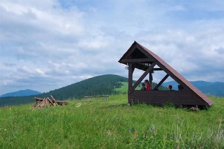 Predná Magura, vrchol