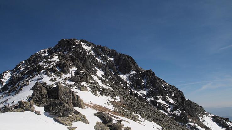 Posledné metre na vrchol Slavkovského štítu