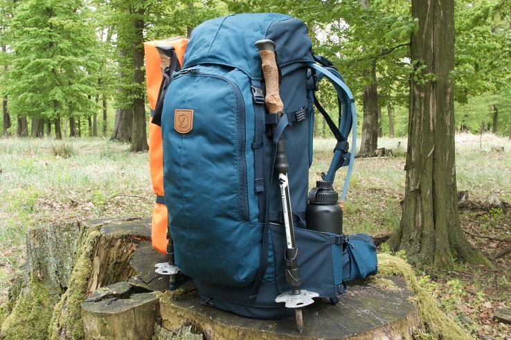 Keb 52 je trekingový batoh na celoročné použitie do náročnejších podmienok