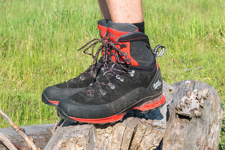 Alverstone II sú trekingové topánky na viacdňové túry naťažko