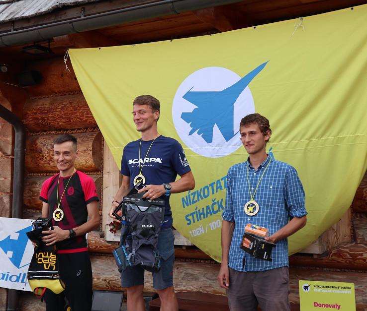 Zľava Piotr Choroś, Tadeáš Vyvijal a Matej Oravec, foto Marek Šúň