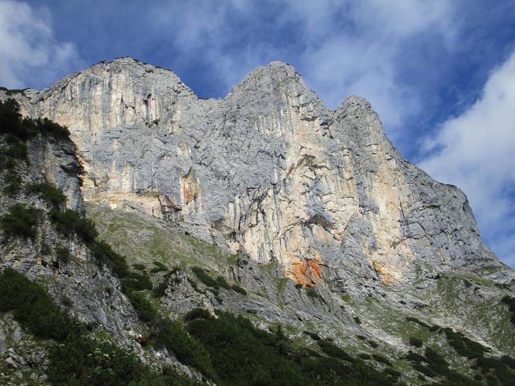 Juhovýchodná stena Berchtesgadener Hochthronu
