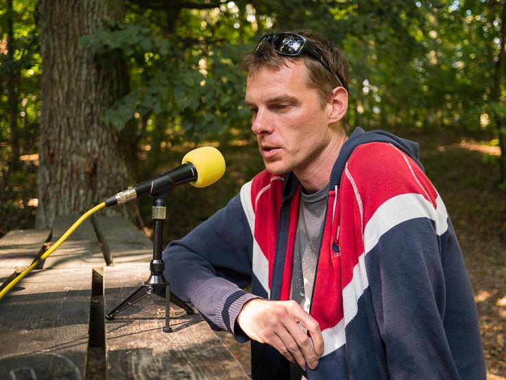Matej Dobšovič, riaditeľ Mestských lesov Bratislava