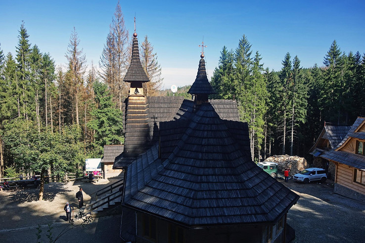 Wiktorówki, Sanktuarium Matki Bożej Jaworzyńskiej, Królowej Tatr