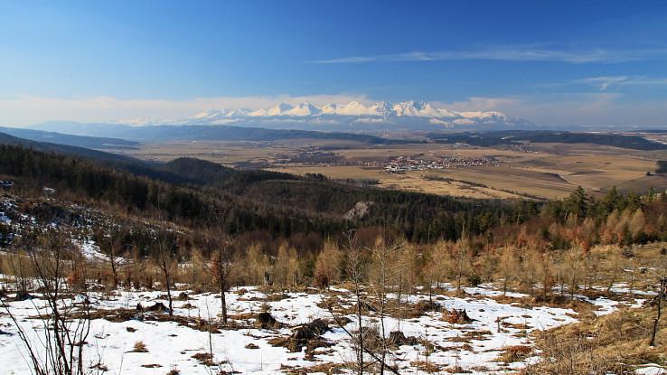 Výhľad z Čertovej sihote