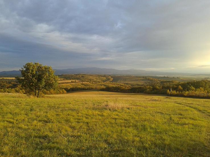 Výhľady z planiny nad Duduncami