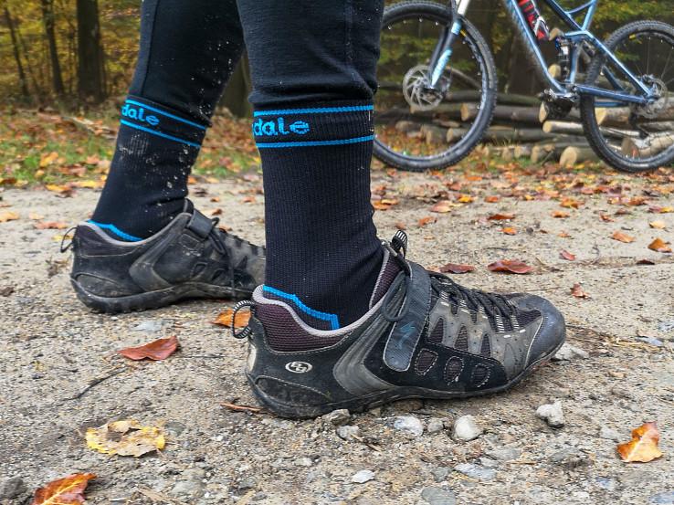 Bridgedale Stormsock sú ideálnym doplnkom na jesenné bicyklovanie
