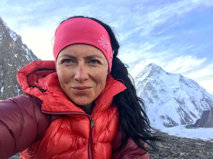 Klára Kolouchová - himalájistka. Prvá Česka na druhej najvyššej hore sveta K2. Foto archív festivalu