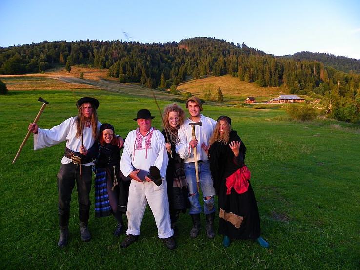 Zbojnícka tradícia je na Slovensku stále živá (autor foto: Tomáš Trstenský)