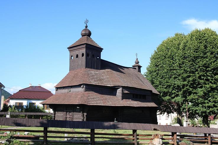 Kostolík svätého Michala Archanjela v obci Uličské Krivé