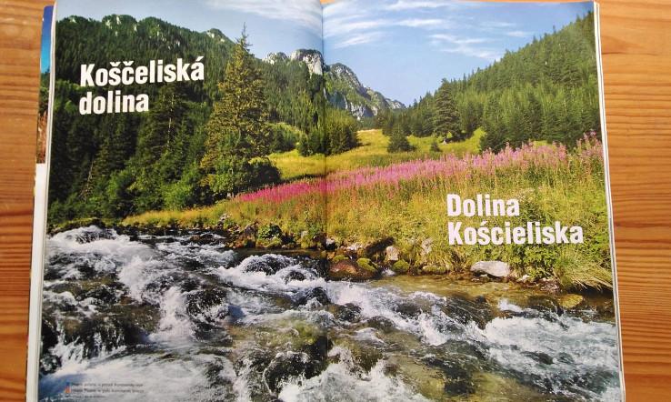 Nesprávny preklad poľského názvu Dolina Kościeliska (TATRY č. 2)