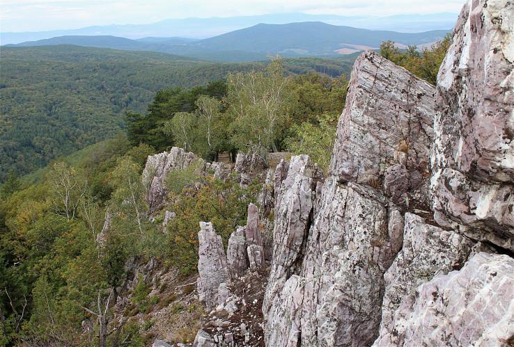 Pohľad z Oselného vrchu
