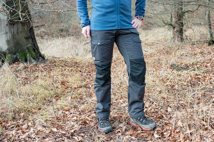 Fjällräven Vidda Pro Ventilated sú odolné turistické nohavice vhodné do divočiny