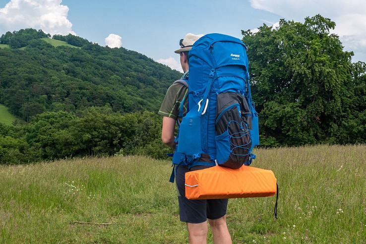 Bergans Trollhetta V5 75 je pohodlný a robustný batoh vhodný na dlhé pochody