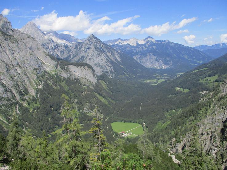 Pohľad do údolia Stodertal