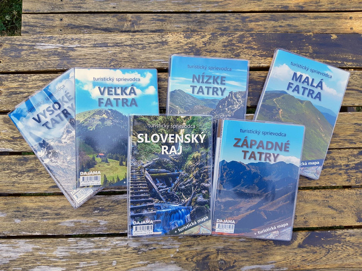 Nové tituly v treťom vydaní turistického sprievodcu