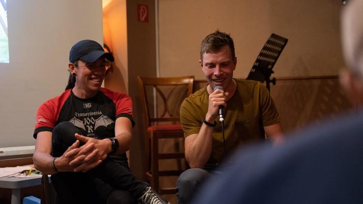 Premiéra filmu, zľava Majo Priadka, Adam Lisý, foto archív Adama Lisého