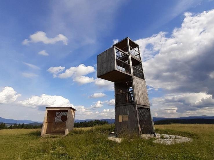 Rozhľadňa Odorica na Medveďom vrchu