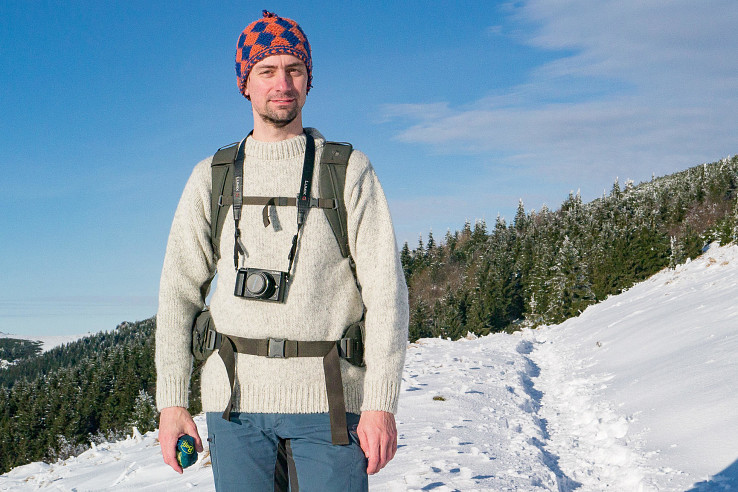 Devold Nansen – vlnený sveter s retro nádychom