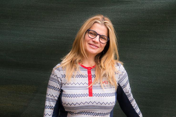 Janka Kalinčíková, chatárka na Zamkovského chate vo Vysokých Tatrách. Foto – Soňa Mäkká
