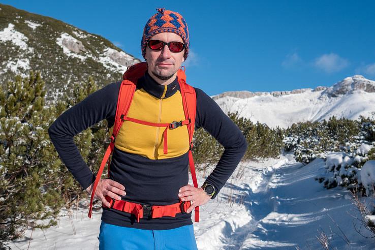 Devold Expedition je dvojvrstvové merino do zimných podmienok