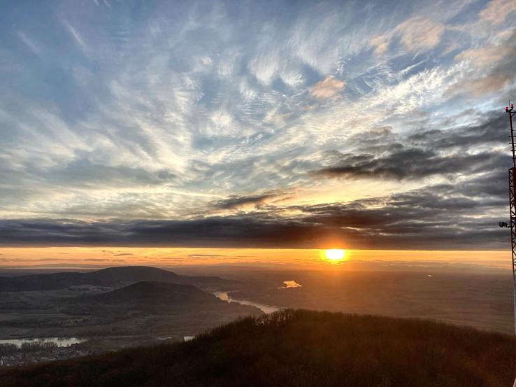 Výhľad na západ Slnka