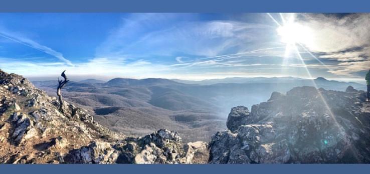 Panoramatický výhľad z Vápennej